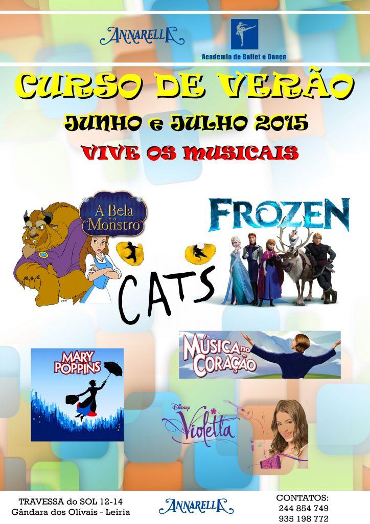 CARTAZ CURSO DE VERÃO 2015